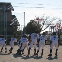 11月25日(日) 蟹江町教育リーグ戦(B)対学戸サンボーイズ