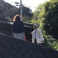 西海市議選 走り続けた渡辺トクロー - 最終日22日の記録