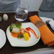 エバー航空 バンコク⇒日本 ビジネスクラス搭乗機