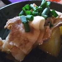 もち豚と大根の煮物