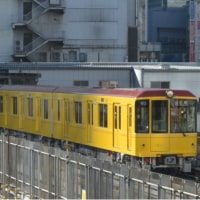 東京の電車 銀座線