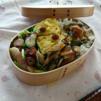 お弁当(タコ&かぶのハーブソルト炒め)