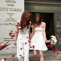 These Models Just Made the Case for a Chic City Hall Wedding