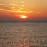感激~夕日と満月と~ヽ(^o^)丿