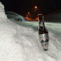 除雪のご褒美