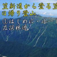 創楽 笠新道から登る笠ヶ岳・日帰り登山 モバイル対応