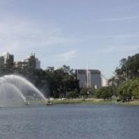 「Parque Ibirapuera」ジョギング