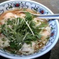 上海麺店、ワンタンメン。