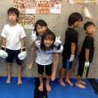 2017.7.26 少年部キッククラス、今日の練習