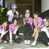 """■""""ブリッツェンフェアリー自転車競技部""""フルメンバー!  ~ 第3回南魚沼グルメライド《続編》~"""