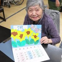 カレンダー作成と七夕飾り作り
