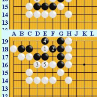 囲碁死活1005官子譜