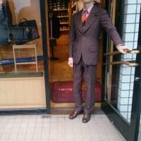 スーツが欲しい。