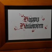 そろそろハロウィン。今夜は蓼科産の糸萱かぼちゃでハッピーハロウィン。