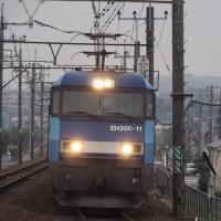 2017年6月29日,今朝の中央線 81レ EH200-11