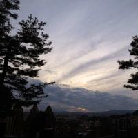 12月5日(月)ダイヤモンド富士-緑霊園は、・・・・・・