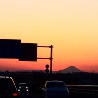 富士山見て、今週もがんばらんば♪