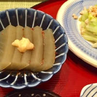 鯖照り焼きと鯖節の夕ご飯