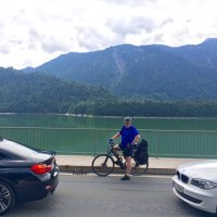 ミュンヘンからSylvensteinstausee(シルフェンシュタイン湖)へドライブ