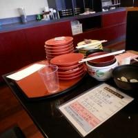 久しぶりの回転寿司