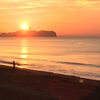 海辺の朝は美しい