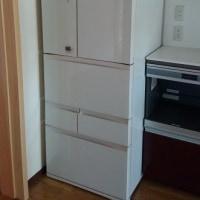 冷蔵庫を納品