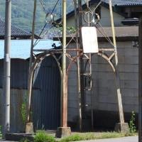 上田市生田の火の見櫓