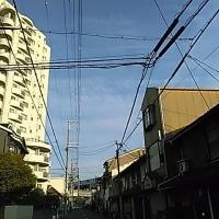 ただ今大阪・駒川上空北の空に壮絶な地震雲が。大阪市にお住まいの方はご覧ください。