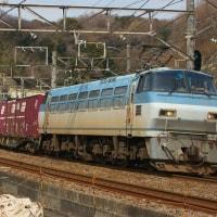 2017年3月25日 東海道貨物線 東戸塚 EF66-127 5095レ