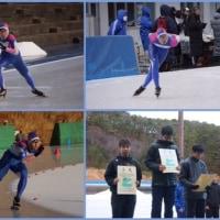 東北中学校スケート大会