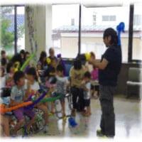 7月16日 福島県相馬市 こども文庫にじ でのワークショップの記録です