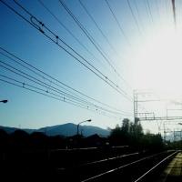 おはよう。晴天でーす!