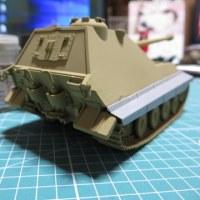E-75 1.28cm/L55 自走砲の組み立てスカートをつけるべきか?