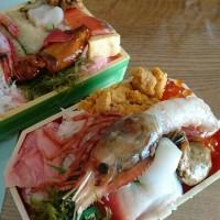 今日のランチ「寿司弁当」