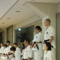 浜松地区可美本部の稽古納め!名古屋市熱田区伝馬支部師範代も参加! 空手・拳法・武道に興味を持ったら見学に来てください。