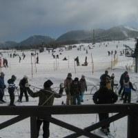 大分のスキー場へ行ってきました