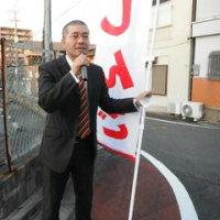 尾倉市場・えびすマーケット前で、夕方お買い物宣伝に行ってきました。魚屋さんから激がありました。(^^)/