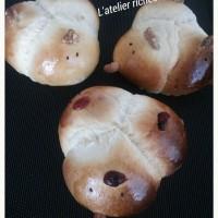 酉のちぎりパン