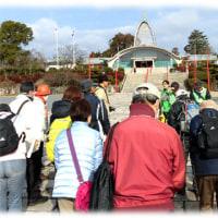 いばらき観光ウォーク(^^♪「パワースポットコース」辨天さん(飛龍山冥応寺)を出発して…