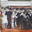 水彩模写「オペラ座の仮面舞踏会」