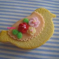 作品 鳥さんクッキー