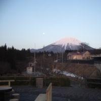 オレンジ色の大山