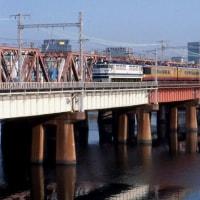 淀川が凍った日(2003年3月21日)