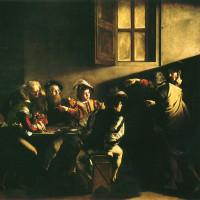 カラヴァッジョ 「聖マタイの召命」