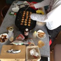 イカ ホタテ アサリ の たこ焼き⁉︎