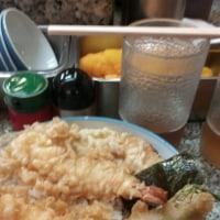 今日は天ぷら