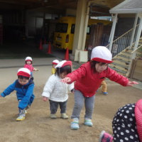 しろ 1歳児 発表会の練習☆戸外遊び