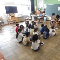6年生による読み聴かせ