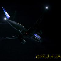 ANA598便 Takeoff