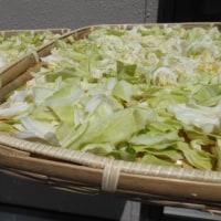 干し野菜。